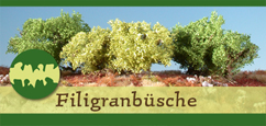 Filigranbüsche